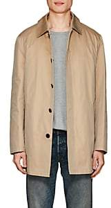 Barneys New York MEN'S COTTON TRENCH COAT-BEIGE, TAN SIZE S