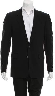 Helmut Lang Wool Two-Button Blazer