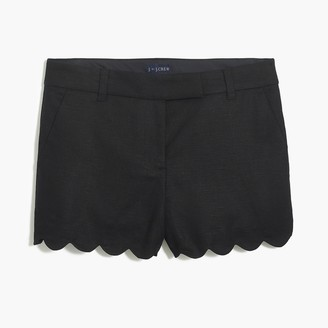 "J.Crew 4"" scalloped hem short"