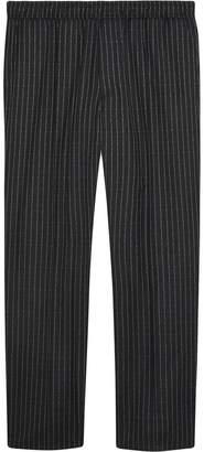 Gucci pinstripe jogging trousers