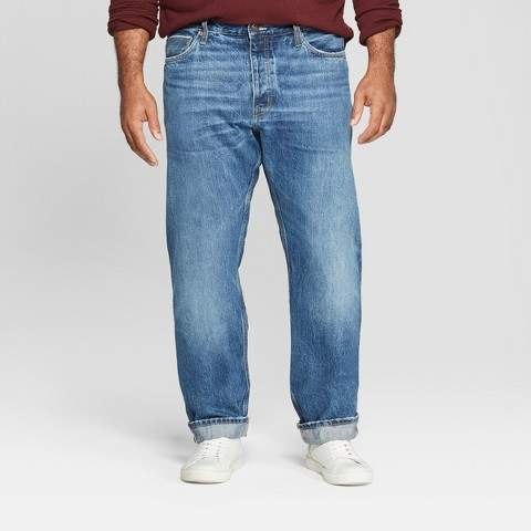 Goodfellow & Co Men's Tall Slim Fit Selvedge Jeans - Goodfellow & Co Medium Wash