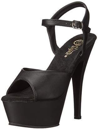 Pleaser USA KISS209/BPU/M Women's Platform Dress Sandal