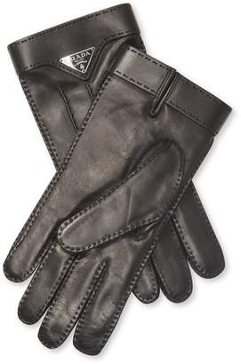 Prada Men's Leather Gloves