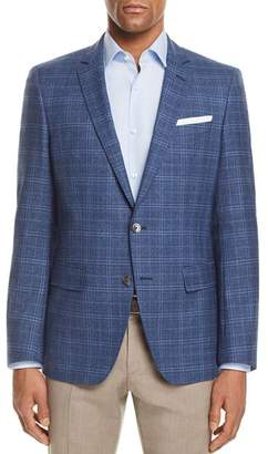 BOSS Hutsons Slim Fit Plaid Check Sport Coat