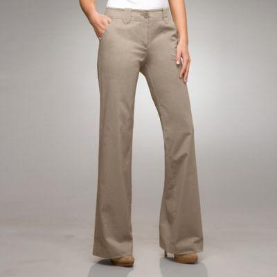 The Manhattan Chino Wide Leg-Average