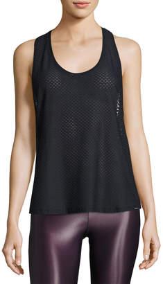 Koral Activewear Runout Athletic Mesh Tank, Black
