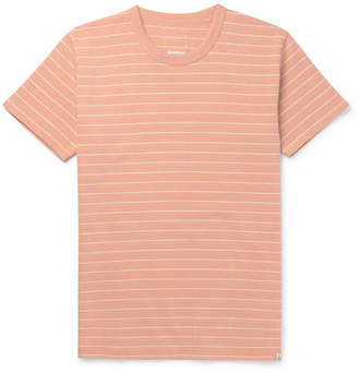 Visvim Slim-fit Striped Cotton-jersey T-shirt