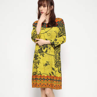 Desigual (デジグアル) - デシグアル Desigual ドレス3/4袖