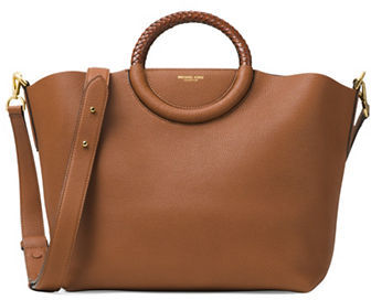 MICHAEL Michael Kors Michael Kors Collection Skorpios Leather Market Bag