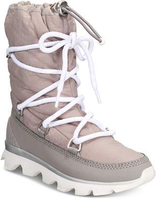 Sorel Women's Kinetic Waterproof Athletic Boots Women's Shoes