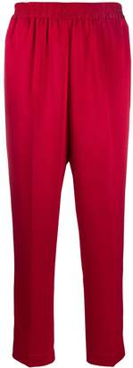 Gianluca Capannolo cropped textured trousers