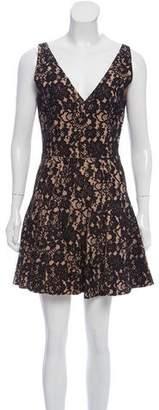 Just Cavalli Lace Mini Dress