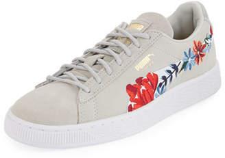 puma suede heart satin sneaker australia