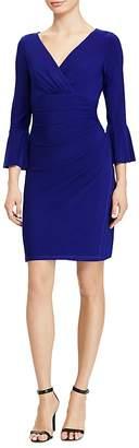 Lauren Ralph Lauren Shirred Bell-Sleeve Dress $119 thestylecure.com