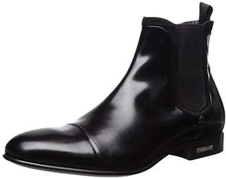 Alessandro Dell'Acqua Men's Anthony Chelsea Boot with Captoe