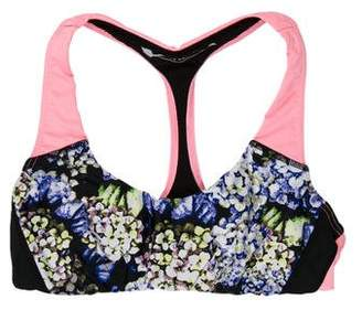 The Upside Abstract Floral Print Sports Bra