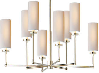 Visual Comfort & Co. Ziyi 8-Light Chandelier - Polished Nickel
