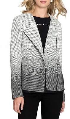 Nic+Zoe Printed Cotton Jacket
