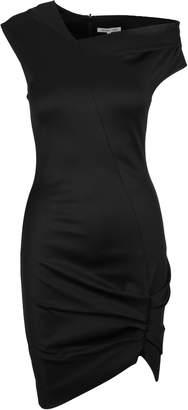 Helmut Lang Asymmetric Fitted Dress