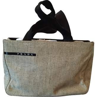 579632e0b5cb ... switzerland pre owned at vestiaire collective prada canvas handbag  bfa09 cbde4