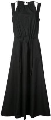 Derek Lam Halter Tank Dress with Seamed Full Skirt