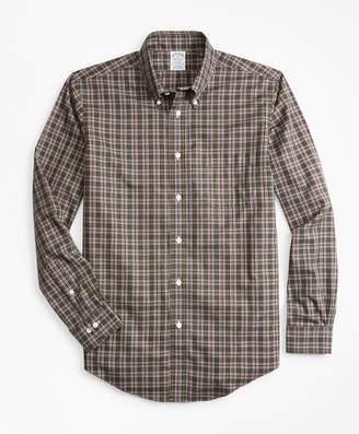 Brooks Brothers Non-Iron Regent Fit Check Sport Shirt
