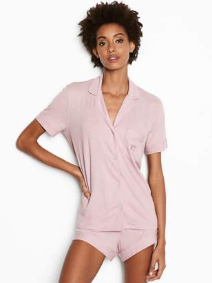 Victoria's Secret Victorias Secret The Sleepover Short Sleeve Knit PJ