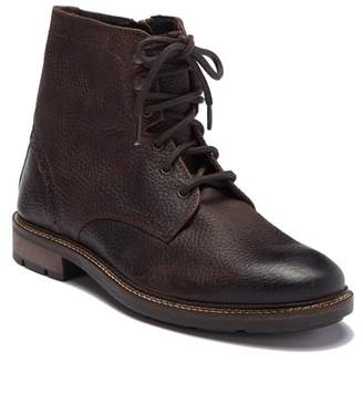 GBX Neeno Textured Leather Lace-Up Boot