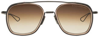 Dita Brown and Gold System One Sunglasses