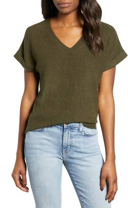 Bobeau Cozy V-Neck Tee