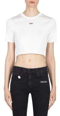Off-White Off Cropped Tiny Tee