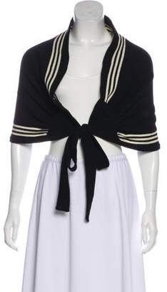 Y-3 Striped Knit Shrug