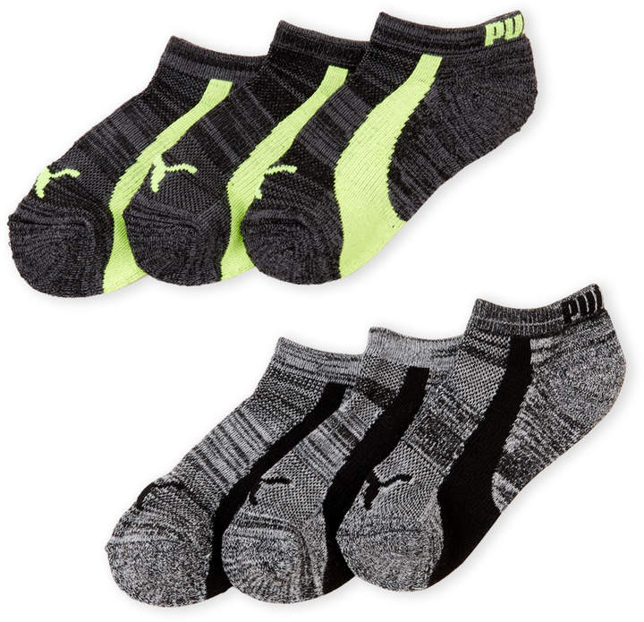 Boys 4-7) 6-Pack Low-Cut Socks