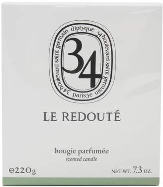 Diptyque le redoute' scent candle