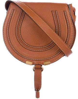 Chloé Mini Marcie Saddle Crossbody Bag