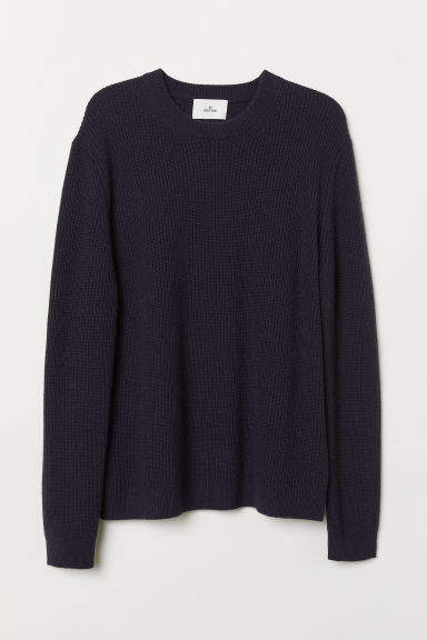 H&M - Cashmere-blend Sweater - Blue