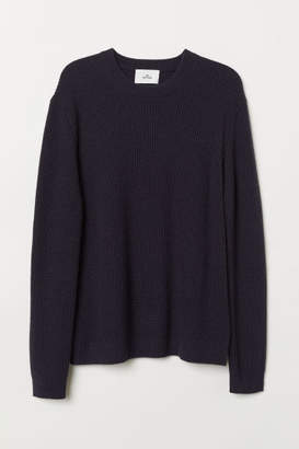 H&M Cashmere-blend Sweater - Blue