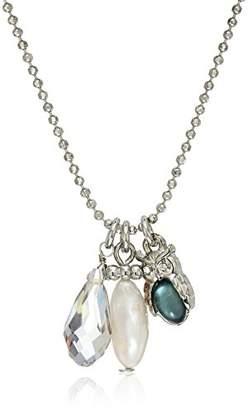 lonna & lilly Fashion Owl -Tone/Owl Pendant Necklace