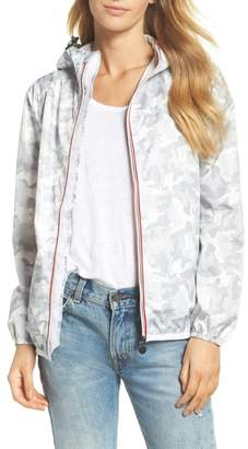 O8 LIFESTYLE Print Packable Rain Jacket