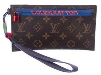 Louis Vuitton 2018 Monogram Outdoor Ribbon Pochette