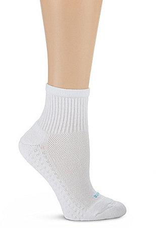 HUE Air Cushion Sport Mini Crew Socks 3-Pack