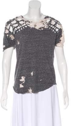 Isabel Marant Tie-Dye Short Sleeve Top