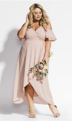 City Chic Citychic Miss Jessica Maxi Dress - Ballet Pink