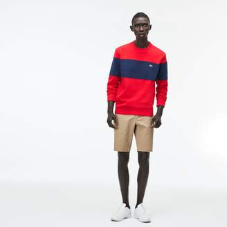 Lacoste Men's Slim Fit Stretch Gabardine Bermuda Shorts