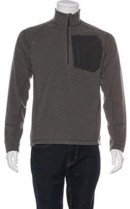 The North Face Mock Neck Zip Sweatshirt