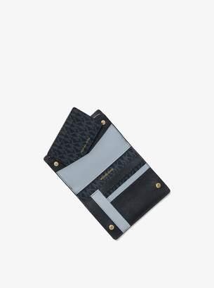 MICHAEL Michael Kors Jet Set Medium Logo Slim Wallet
