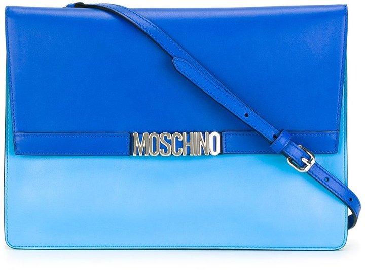 MoschinoMoschino Letters shoulder bag