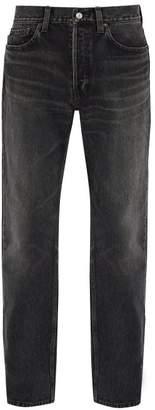 Balenciaga Standard Straight Leg Jeans - Mens - Black