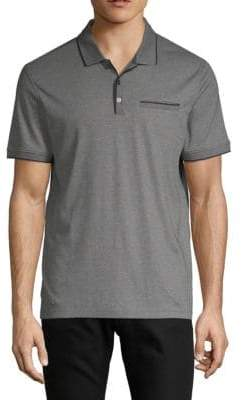 Calvin Klein Interlock Cotton Polo