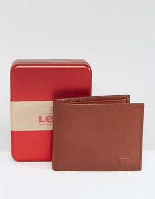 Levi's Levis Leather Wallet In Brown